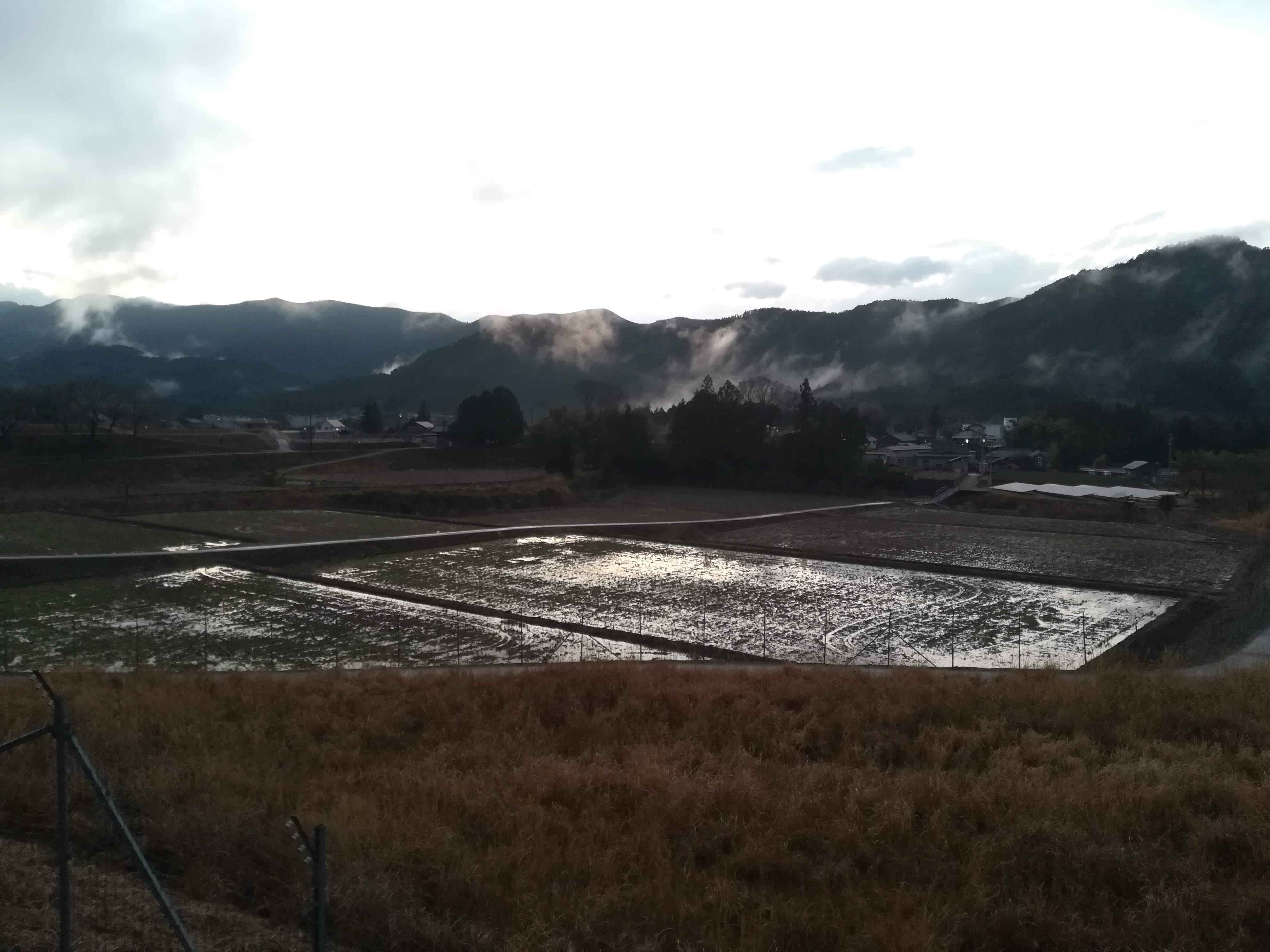 滝原地区の冬の景色
