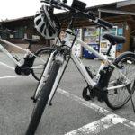 サイクリングツアーガイドで使用しているEbikeの写真