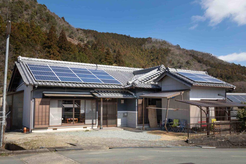 民泊三吉が運営している大紀町日本一のふるさと村別館の外観
