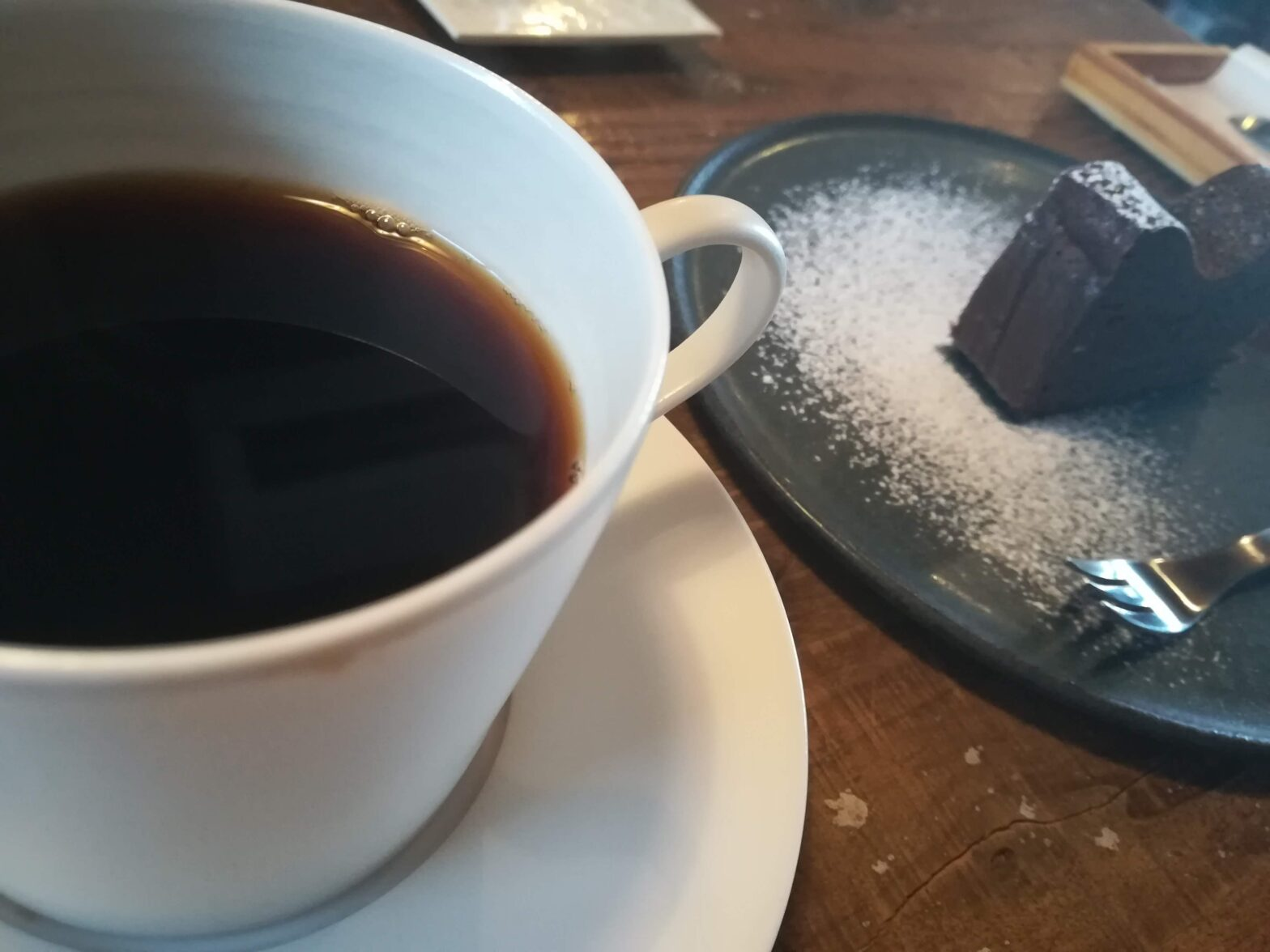 CAFEめがね書房のコーヒーとスイーツ(大紀町の喫茶店)