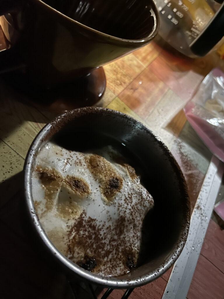 焼きマシュマロコーヒー